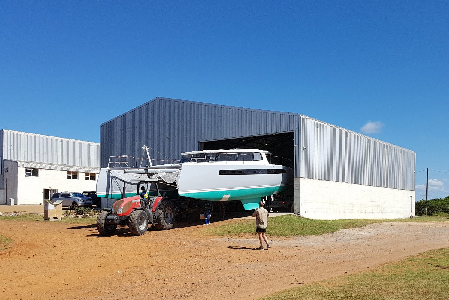 Balance catamarans, balance 526, nexus yachts, south africa, catamaran, yacht, boat launch