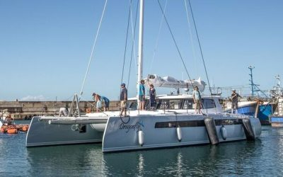 "Balance 526 ""Dragonfly"" is Launched and on Her Way Home"
